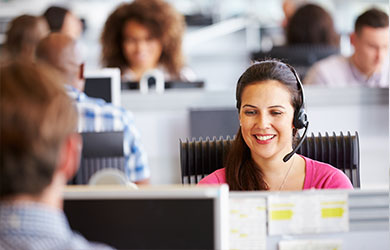 What are the differences between call answering services and virtual receptionist services?